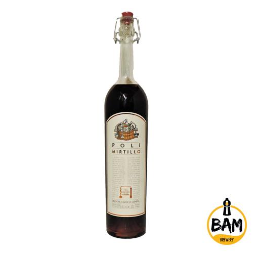 Mirtillo Poli - Liquore alla Grappa - Bam Brewery Pub