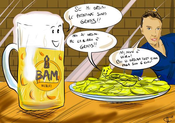 Promo birra e patatine