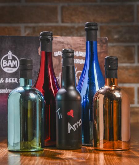Bottilglie Laccate e Personalizzate Bam Brewery